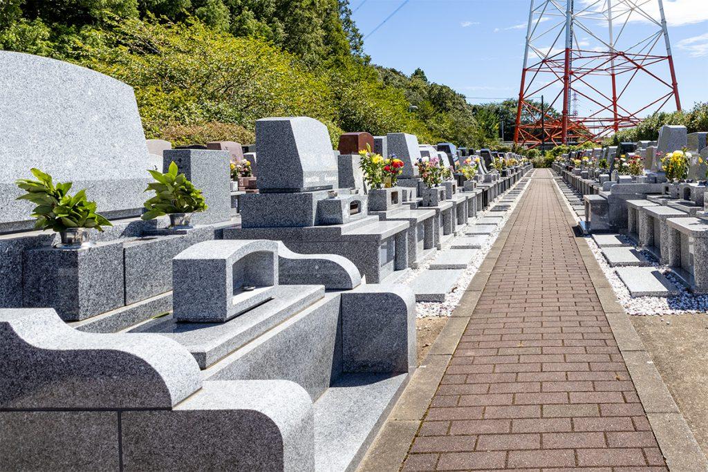 船橋市内の霊園取材