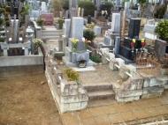 お墓リフォーム事例1