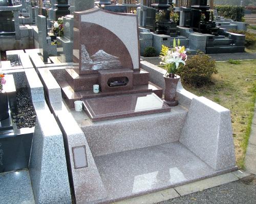 富士山のお墓
