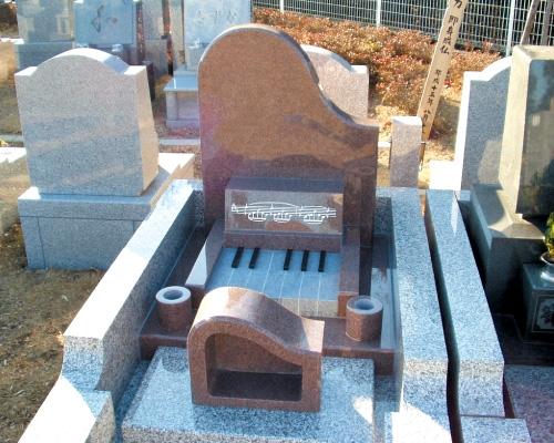 ピアノのお墓