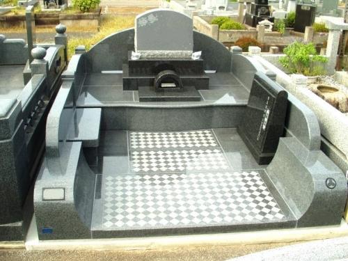 墓所面積9.5平米の大きなお墓