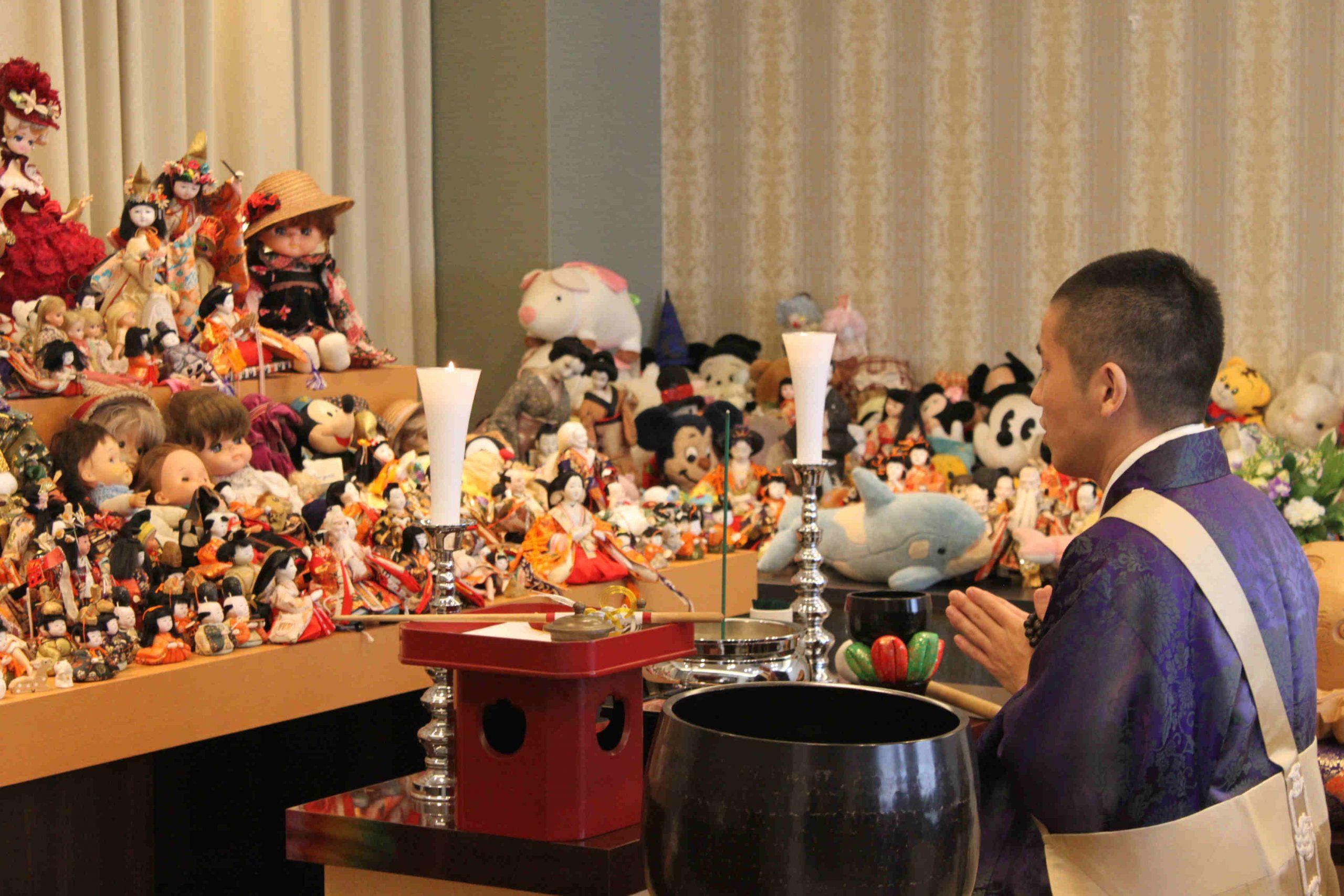 5/16(日)家族葬のオリーブ船橋馬込ホールにて人形供養祭開催のお知らせ